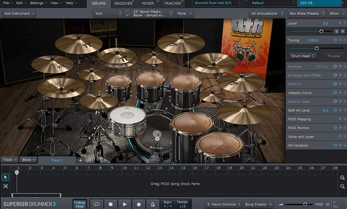 best drum software superior drummer 3