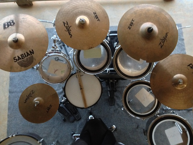 drum set overhead