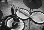 electronic drums overhead
