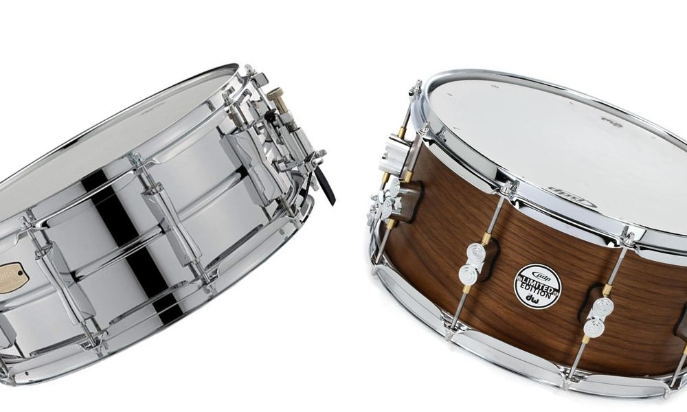 metal vs wood snare drums what 39 s the difference and how does it affect the sound. Black Bedroom Furniture Sets. Home Design Ideas