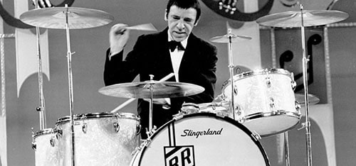 heel up vs. heel down drumming buddy rich
