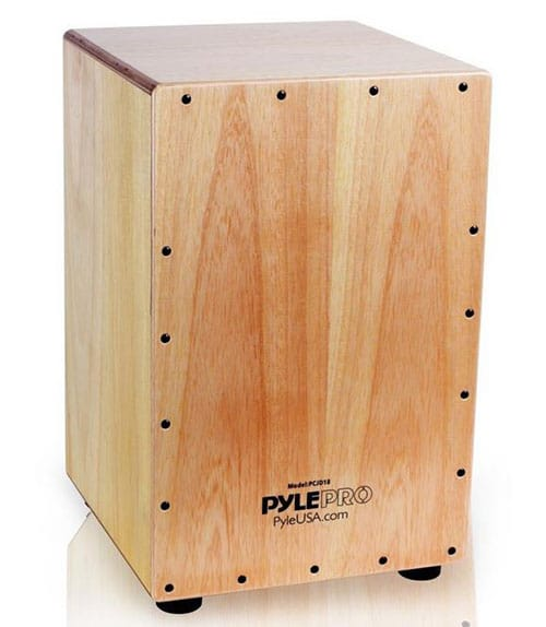 pyle stringed jam cajon