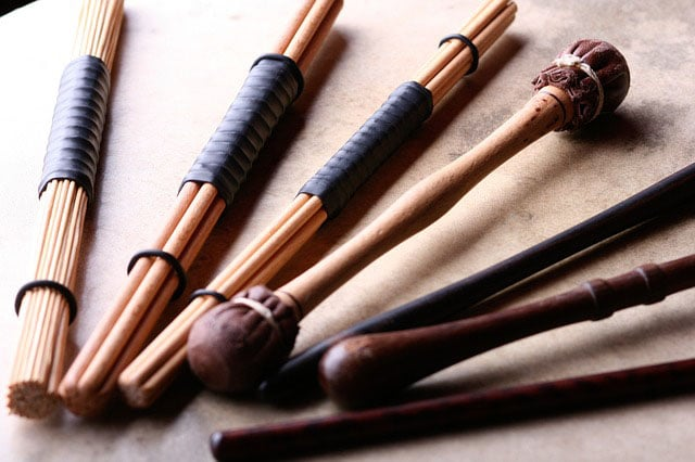 rods and mallets