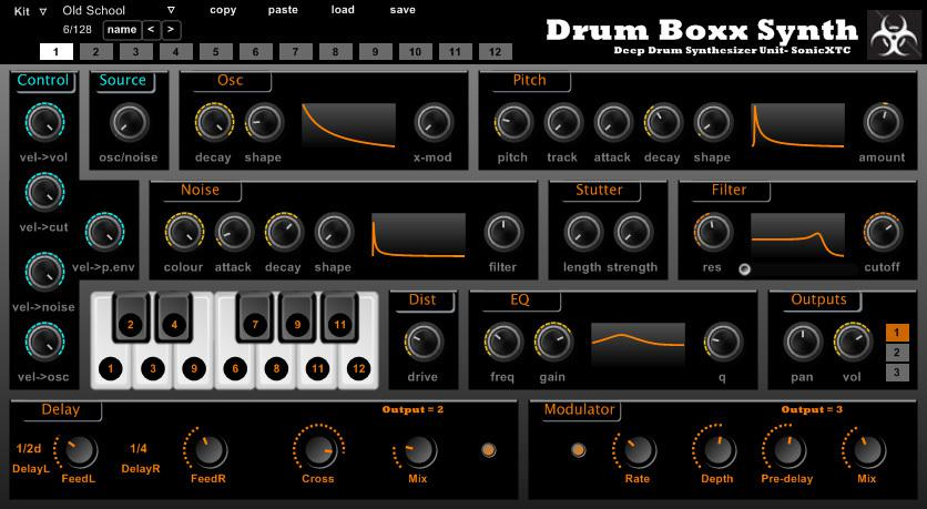 drum box synth vst plugin