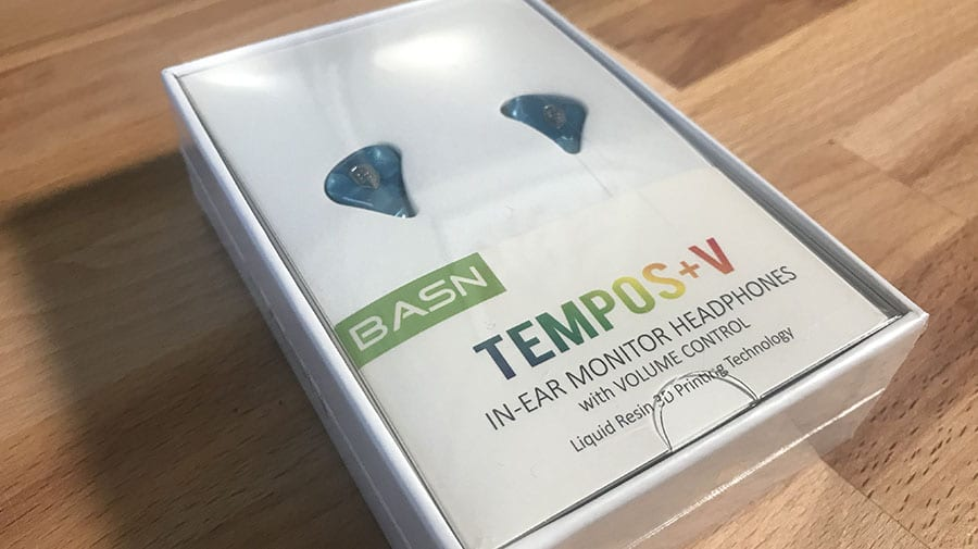 basn tempos in-ear monitor headphones review